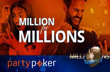 partypoker's M4M Promotion Gives You Chance To Enter MILLIONS Online