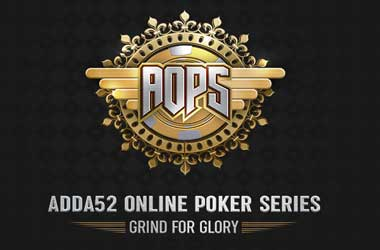Indian Players Set Sights On Adda52 Online Poker Series This Friday