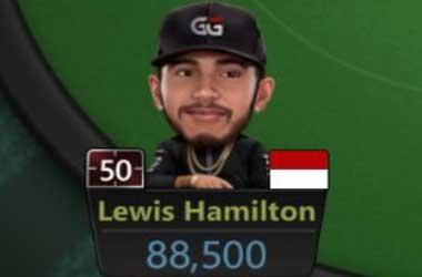 Lewis Hamilton GGPoker Avatar