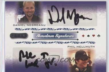 Daniel Negreanu dan Phil Hellmuth Autographs