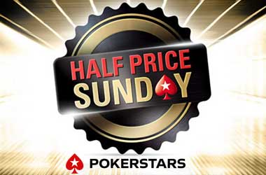 PokerStars' Half Price Sunday Gets Positive Response In The US