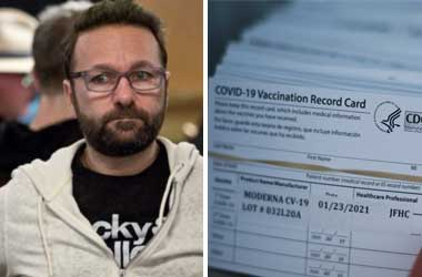 Daniel Negreanu Says Two Poker Players Offering Fake Vaccination Cards
